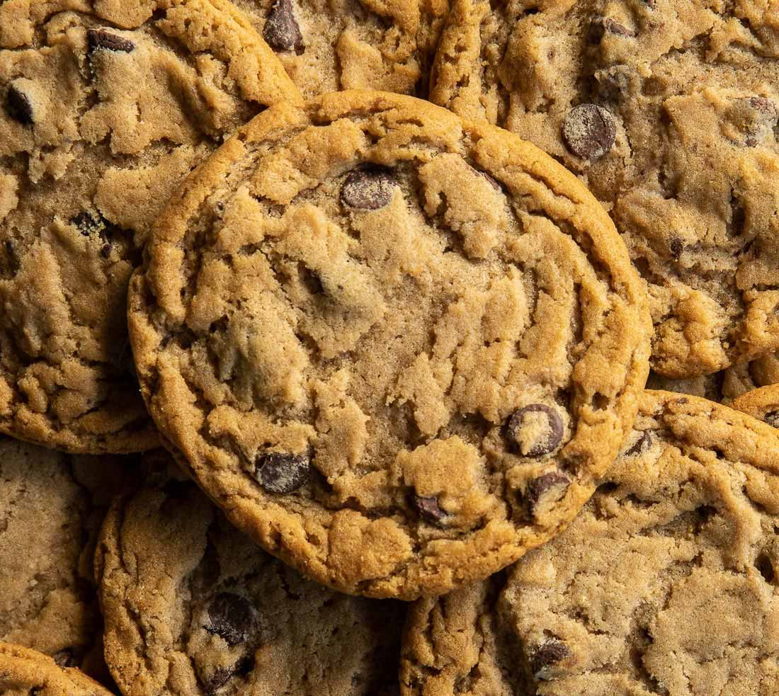 Picture of a bunch of Original chocolate chip cookies