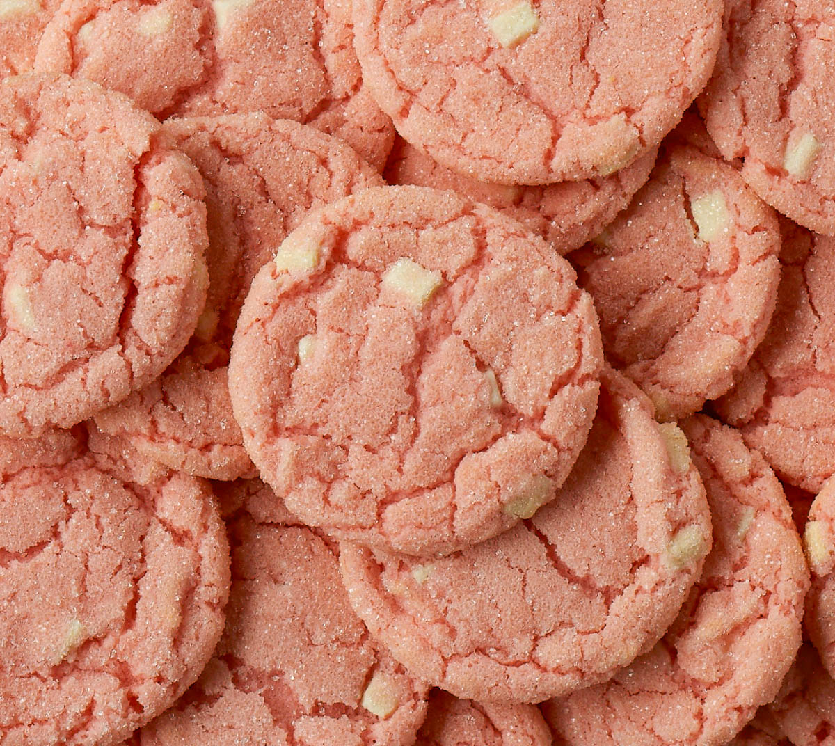 Picture of a bunch of Strawberry crinkles