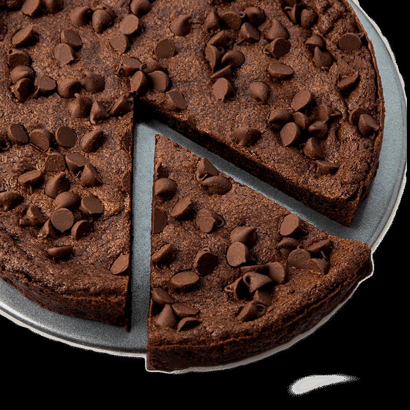 Deep Dish Brownie With Chocolate Chips