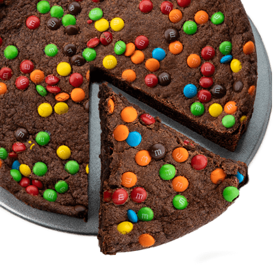 Deep Dish Brownie with M&Ms<sup>® </sup>
