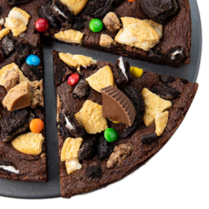 Picture of Deep Dish Brownie:The Works