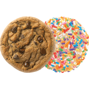 Picture of Original Chocolate Chip and Birthday Cake Cookies