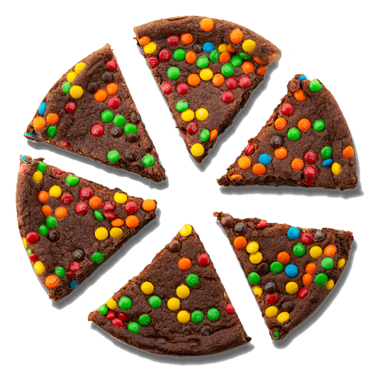 Picture of Deep Dish Brownie cut into slices