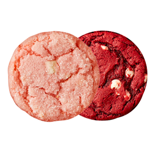 Picture of Strawberry Crinkle and Red Velvet Cookie