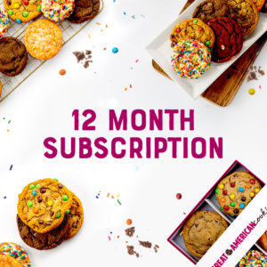 Picture of 12 Month Subscription Cookie