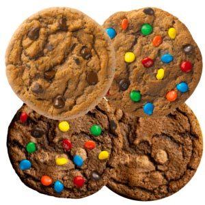 Picture of Chocolate Assorted Cookies